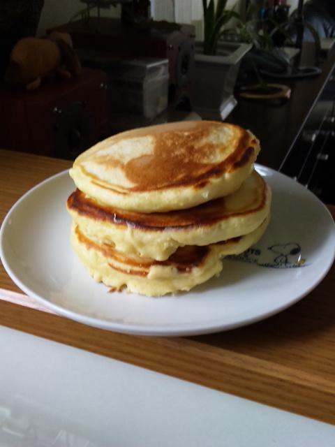 朝からキッチン